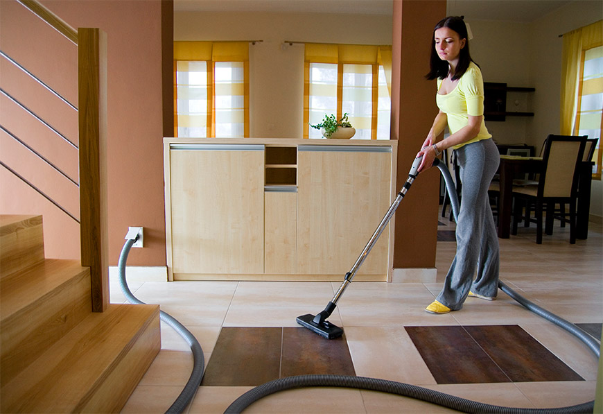 An Easier Healthier Way To Vacuum