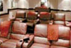 Home Theater Leather Chairs photo