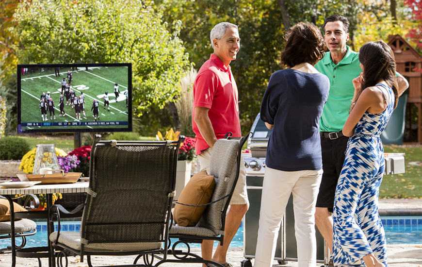 Outdoor Television photo